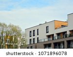 modern and new apartment... | Shutterstock . vector #1071896078