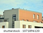 modern and new apartment... | Shutterstock . vector #1071896120