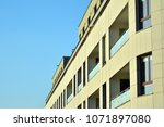 modern and new apartment... | Shutterstock . vector #1071897080