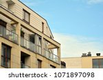 modern and new apartment... | Shutterstock . vector #1071897098