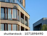 modern and new apartment... | Shutterstock . vector #1071898490