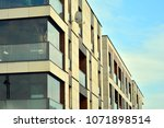 modern and new apartment... | Shutterstock . vector #1071898514