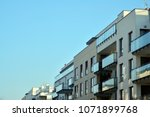modern and new apartment... | Shutterstock . vector #1071899768