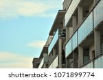 modern and new apartment... | Shutterstock . vector #1071899774