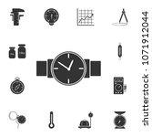 wrist watch icon. simple... | Shutterstock .eps vector #1071912044