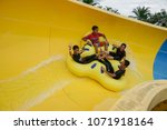 malacca  malaysia   18 april... | Shutterstock . vector #1071918164