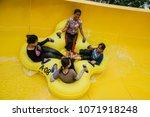 malacca  malaysia   18 april... | Shutterstock . vector #1071918248