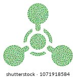 wmd nerve agent chemical... | Shutterstock .eps vector #1071918584