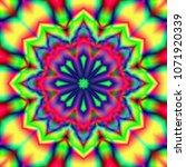 modern floral pattern. raster... | Shutterstock . vector #1071920339