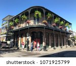 french quarter architecture in...   Shutterstock . vector #1071925799