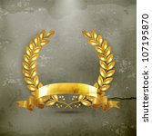 10eps,3d,aged,antiquity,award,background,branch,certified,champion,coat of arms,concept,damaged,decoration,design element,dirt