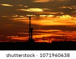 Small photo of Permian Basin sunset