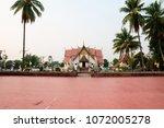 nan  thailand   this building... | Shutterstock . vector #1072005278
