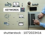 keywords research communication ... | Shutterstock . vector #1072023416