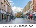 leicester  united kingdom ... | Shutterstock . vector #1072081340