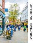 lincoln  united kingdom  april... | Shutterstock . vector #1072081634
