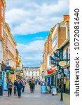 lincoln  united kingdom  april... | Shutterstock . vector #1072081640