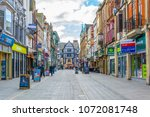 leicester  united kingdom ... | Shutterstock . vector #1072081748