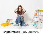 confused screaming mad shocked... | Shutterstock . vector #1072084043