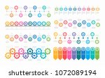abstract business infographics... | Shutterstock .eps vector #1072089194