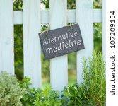 alternative medicine | Shutterstock . vector #107209154