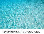 blue marine pool or sea wave... | Shutterstock . vector #1072097309