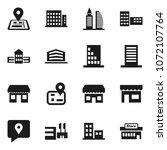 flat vector icon set   school... | Shutterstock .eps vector #1072107764