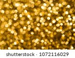 christmas gold background with... | Shutterstock . vector #1072116029