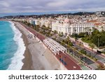 nice  march  12 2018  france ... | Shutterstock . vector #1072134260
