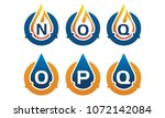 oil water pipe solutions... | Shutterstock .eps vector #1072142084