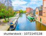 nottingham  united kingdom ... | Shutterstock . vector #1072145138