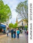 nottingham  united kingdom ... | Shutterstock . vector #1072145150