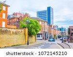 nottingham  united kingdom ... | Shutterstock . vector #1072145210