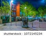 nottingham  united kingdom ... | Shutterstock . vector #1072145234