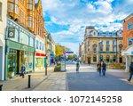 lincoln  united kingdom  april... | Shutterstock . vector #1072145258