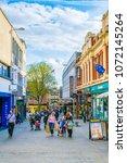 lincoln  united kingdom  april... | Shutterstock . vector #1072145264