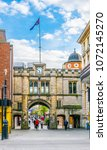 lincoln  united kingdom  april... | Shutterstock . vector #1072145270