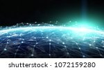 connections system and global...   Shutterstock . vector #1072159280