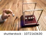 concept for action and reaction ... | Shutterstock . vector #1072163630