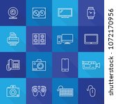 devices technology line icon | Shutterstock .eps vector #1072170956