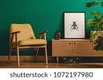 classy minimalist living room... | Shutterstock . vector #1072197980
