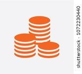 flat icon of money vector icon | Shutterstock .eps vector #1072230440