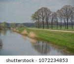 the small city of eibergen in...   Shutterstock . vector #1072234853