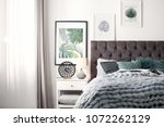 Modern Room Interior With...