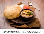 Chole Bhature Or Chick Pea...
