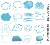 children's drawings of clouds ...