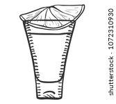 vector sketch illustration  ... | Shutterstock .eps vector #1072310930