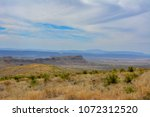 looking out across the desert... | Shutterstock . vector #1072312520