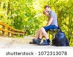 adventure  tourism  enjoying... | Shutterstock . vector #1072313078