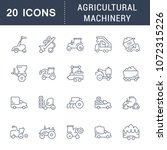 set of vector line icons  sign... | Shutterstock .eps vector #1072315226
